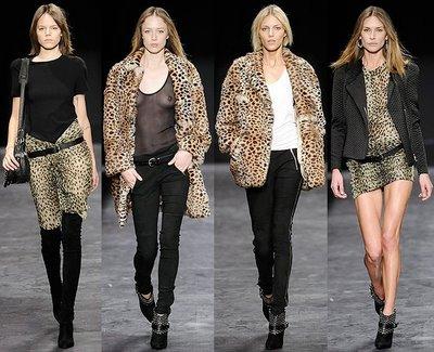 Fall 09 Isabel Marant - Leopard