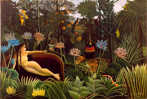 The Dream, by Henri Rousseau 1910